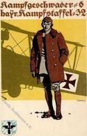 Feldpost WK I Kampfgeschwader 6 Bayr. Kampfstaffel 32 I-II - Weltkrieg 1914-18