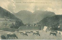 Dauphiné; Couvent De La Grande-Chartreuse Et Le Charmant Som - Non Voyagé. (P. Gaude - Grenoble) - Chartreuse