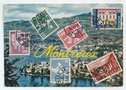 CH.- 211 MONTREUX. - HELVETIA -. IRIS. Editions JAEGER GENEVE. - Postzegels (afbeeldingen)