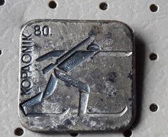 Biathlon Kopaonik  1980 Yugoslavia Pin - Biathlon