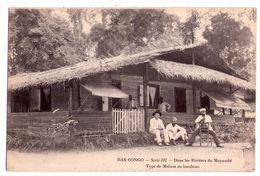 2414 - Bas-Congo - Série N° III - Dans Les Rivières Du Mayumbé - Type De Maison En Bambou - Coll. Charbonneau - - Französisch-Kongo - Sonstige
