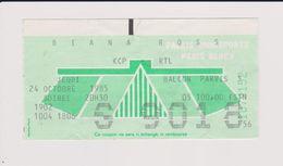 Concert DIANA ROSS 24 Octobre 1985 Paris Bercy. - Tickets De Concerts
