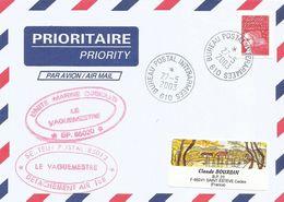 France 2003 BPI 610 Djibouti Detachement Air 188 Mirages Cover - Cachets Militaires A Partir De 1900 (hors Guerres)