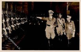 Hitler Mussolini WK II PH It. 5 Foto AK I-II - Weltkrieg 1939-45