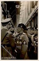 Hitler WK II  Mussolini PH M 14 Foto AK I-II - Weltkrieg 1939-45
