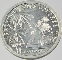 2 Francs - Comores - Lu - 1964 - Sup - - Comoros