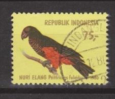 Indonesie Indonesia 1022 Used ;  Papegaai, Perroquet, Perruche, Parrakeet, Parots, Papagayo, Cotorra, 1980 - Papegaaien, Parkieten