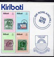 KIRIBATI  Timbres Neufs ** De 1979  ( Ref 5597 ) Timbre Sur Timbre -  Rowland Hill - Kiribati (1979-...)