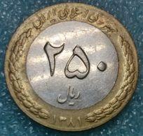 Iran 250 Rials, 1381 (2002) - Iran