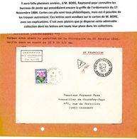 HAUTE SAONE ORDONNANCE / 17 NOVEMBRE 1844 / (Art 30 ET 31) ENV 1973 MONTBOZON ET TAXE CHAMBERY SAVOIE => VOIR DESCRIPTIO - Marcophilie (Lettres)