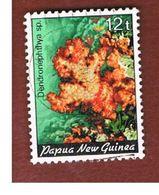 PAPUA NUOVA GUINEA  (PAPUA NEW GUINEA ) - SG 442 - 1985 MARINE LIFE: CORALS (DENDRONEPHTLYA SP.  - USED° - Papua Nuova Guinea