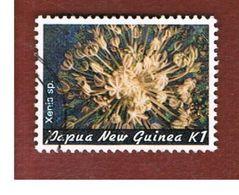 PAPUA NUOVA GUINEA  (PAPUA NEW GUINEA ) - SG 450 - 1982 MARINE LIFE: CORALS (XENIA SP.)  - USED° - Papua Nuova Guinea