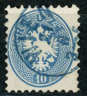 Nr. 33 Blaue Entwertung - 1850-1918 Imperium