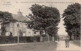 76 SASSETOT-le-MAUCONDUIT  Ecole Des Filles Et Avenue Du Château - France