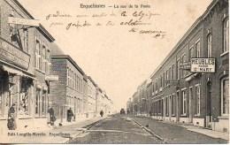 Belgique ERQUELINNES  La Rue De La Poste - Erquelinnes