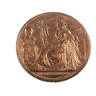 Médaille - 25è Anniversaire Inauguration Du Roi - 1856 - Cuivre - TTB - Belgique