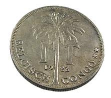 1 Franc - Belgique - Congo-Belge - 1923 - TB+ - - 07. 1 Franc