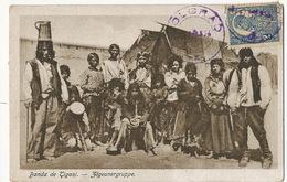 Tziganes Roms Gypsy  Banda De Tigani Zigeunergruppe P. Used Romania - Europe