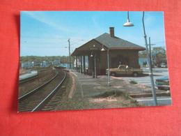 Railroad Station  Mystic  - Connecticut      Ref 3049 - Etats-Unis