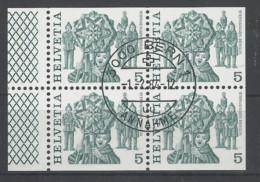 Svizzera - 1977 - Usato/used - H-Blatt 145 - Svizzera