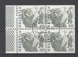 Svizzera - 1977 - Usato/used - H-Blatt 147 - Svizzera