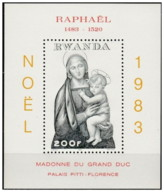 Rwanda - 1983 - Nuovo/new MNH - Natale - Mi Block 101 - Christmas