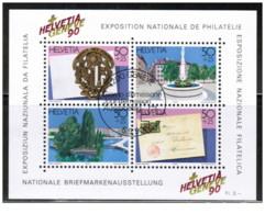 Svizzera - 1990 - Usato/used - Exposition - Mi Block 26 - Blocchi & Foglietti
