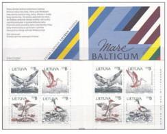 Lituania - 1992 - Nuovo/new MNH - Natura - Booklet - Mi N. 501/04 - Lituania