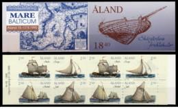 Aland - 1995 - Nuovo/new MNH - Mare Baltico - Booklet - Mi N. 95/98 MH 3 - Aland