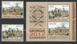 Georgia Georgien 2017 Mi. 690-691 Castles - Georgien
