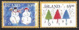 Islande 1995 N° 787/788 Neufs Noël - 1944-... Republik