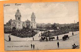Lima Peru 1905 Postcard - Peru