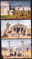 3 X VINTAGE CARD ** 1924 WEMBLEY - BRITISH EMPIRE EXHIBITION  ** - Celesque Series - Perfect ! - Expositions