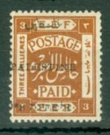 Palestine: 1920   E.E.F. 'Palestine' OVPT    SG18    3m      MH - Palestine