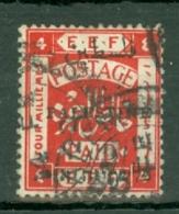 Palestine: 1921   E.E.F. 'Palestine' OVPT    SG50    4m   Used - Palestine
