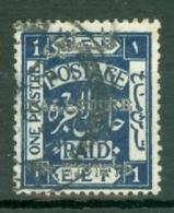 Palestine: 1921   E.E.F. 'Palestine' OVPT    SG52    1P   Used - Palestine