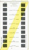 STEREOCARTE LESTRADE. 10 Vues Kodachrome - YOUGOSLAVIE - BELGRADE. 8.  1950/51 - Diapositives