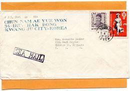 Korea Old Cover Mailed - Corée Du Sud