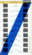 STEREOCARTE LESTRADE. 10 Vues Kodachrome - MONTE CARLO. 2.  1950/51 - Diapositives