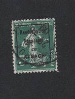 Faux Dallay Guerre Réocupation Française En Alsace N° 2D 5 C Semeuse Oblitéré 2eme Choix - 1906-38 Sower - Cameo