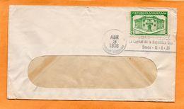 Dominican Republic 1936 Cover Mailed - Dominican Republic