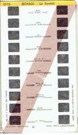 STEREOCARTE LESTRADE. 10 Vues Kodachrome - MONACO - LE ROCHER.  1950/51 - Diapositives