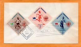 Dominican Republic 1957 FDC - Dominicaine (République)
