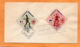 Dominican Republic 1957 FDC - Dominican Republic