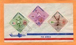 Dominican Republic 1957 FDC - Dominicaanse Republiek
