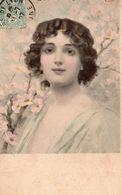 9568. CPA ILLUSTRATEUR VIENNE. BUSTE DE JEUNE FEMME 1907 - 1900-1949