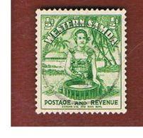 SAMOA - SG 180 -  1935     SAMOAN GIRL      -     USED° - Samoa