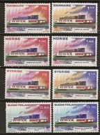 Scandinavian Countries 1973 Nordic Cooperation 5 Sets Complete MNH ** - Stamps