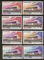 Scandinavian Countries 1973 Nordic Cooperation 5 Sets Complete MNH ** - Postzegels