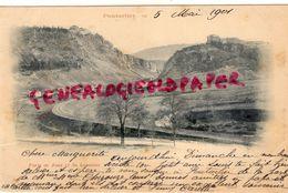 25- PONTARLIER - FORTS DE JOUX ET DU LARMONT - RARE CARTE PRECURSEUR 1901 - Pontarlier